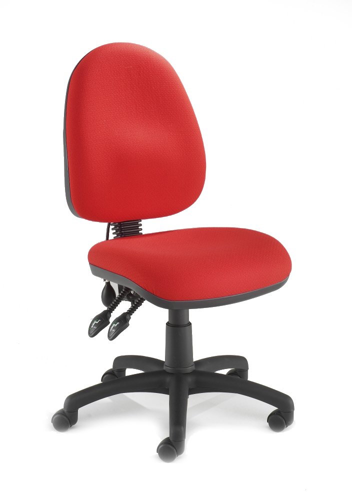 PSI HIGH BACK OPERATOR CHAIR WITH LUMBAR SUPPORT