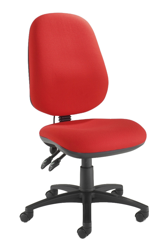 PSI PRETORIAN HIGH BACK CHAIR WITH LARGE SEAT AND INFLATABLE LUMBAR SUPPORT