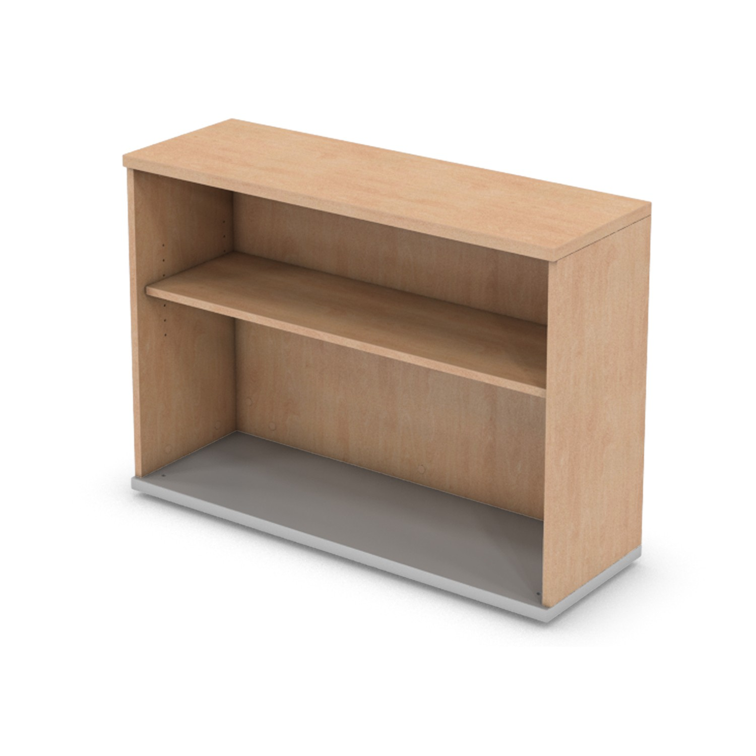 725mm x 1000mm DESK HIGH BOOKCASE