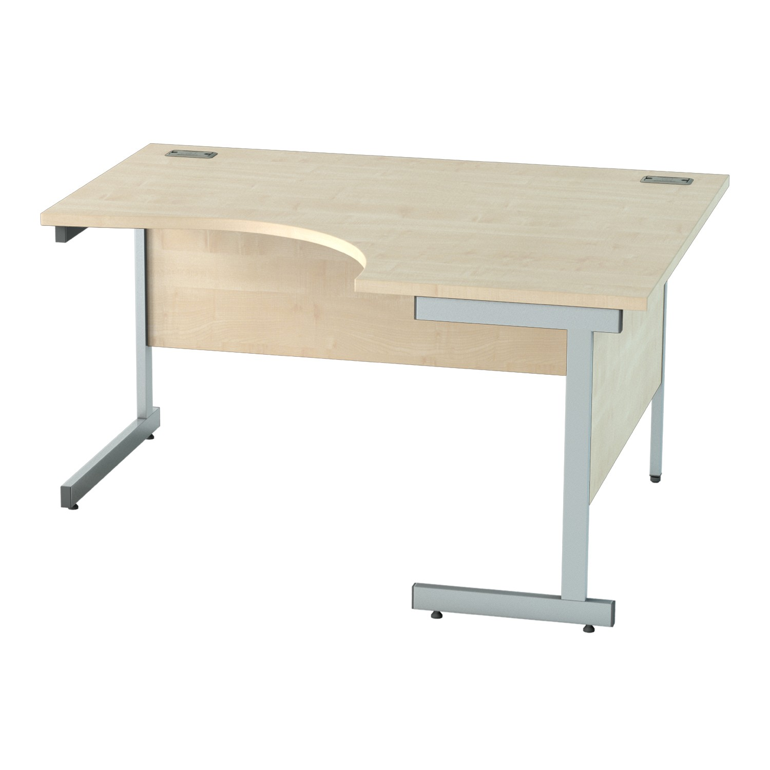 1400mm CANT R/H CRESCENT WORKSTATION