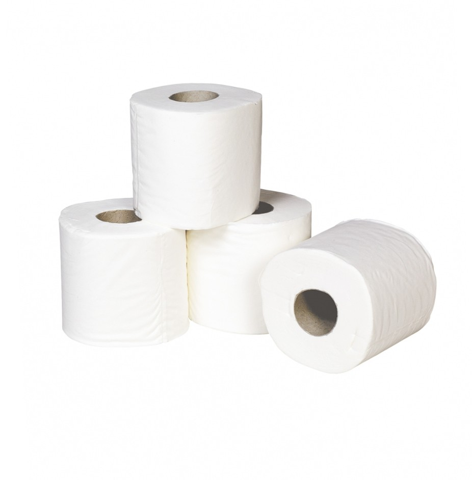 TOILET ROLLS LUXURY 2ply WHITE - ORDER 5 OR MORE FOR BULK DISCOUNT!!