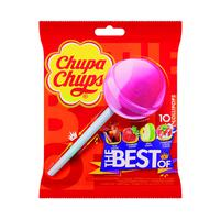 Free Gift Over £50 + VAT (1 Gift Per Order) Chupa Chups The Best Of Lollipops (Pack of 10)