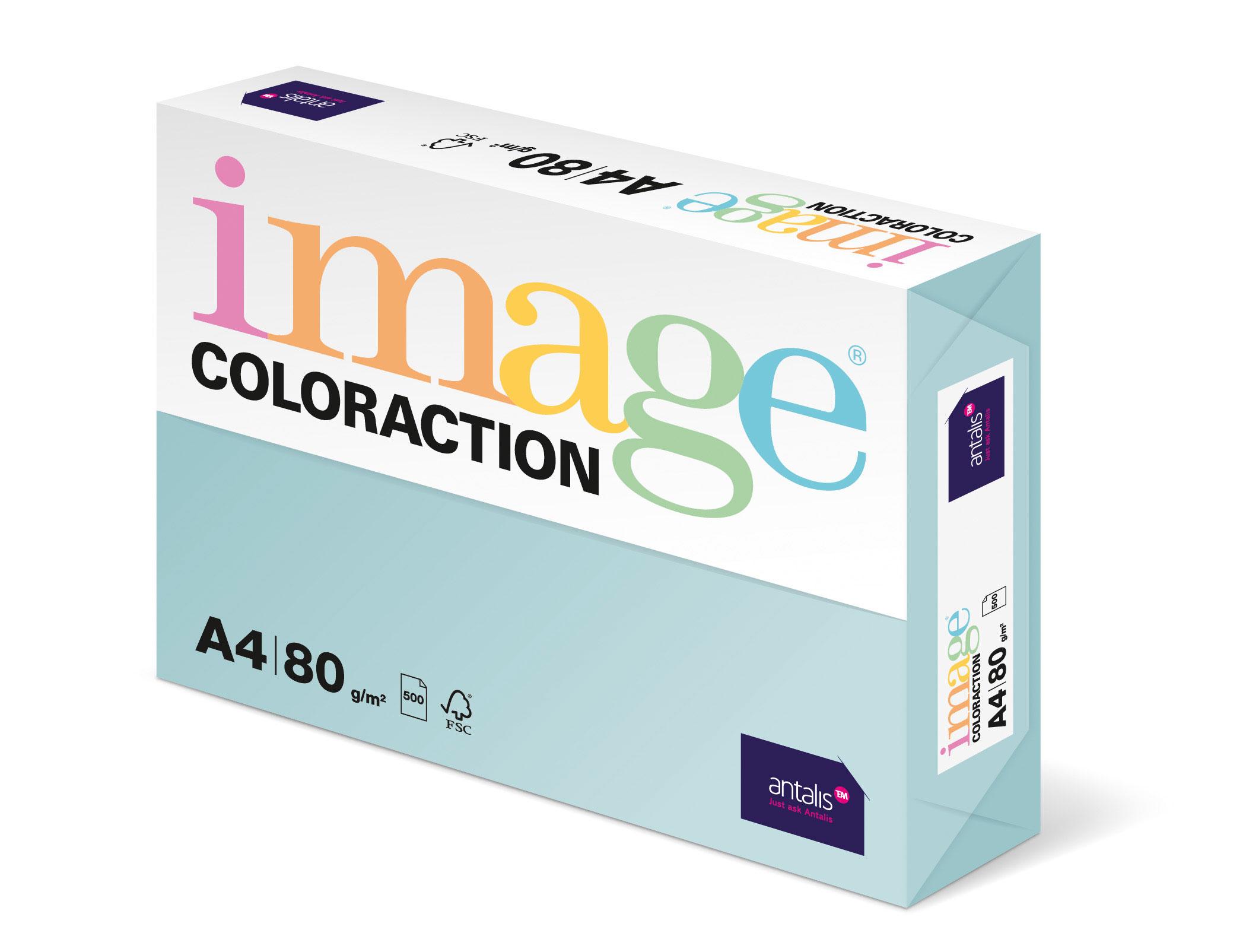 Coloured Copier A4 Pale Blue 80gm 500s