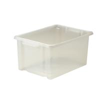 Strata Maxi Storemaster Box 32L Clear HW046-CLEAR