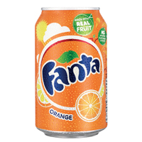Fanta Orange Soft Drink 330ml Can   402006