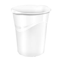 CEP Pro Gloss Waste Bin White 280G WHITE
