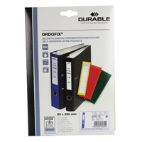 Durable Ordofix Spine Label Blue Pk 10 8090/06