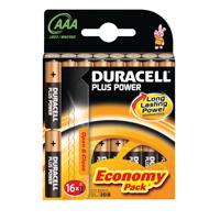 Duracell Plus Battery AAA Pk 16 81275415