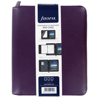 Filofax A5 Pennybridge Organiser Purple 028034
