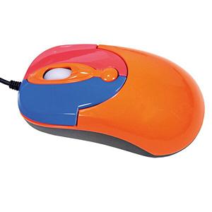 Optical Mouse Orange