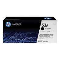 HP 53A Black Original LaserJet Toner Cartridge Q7553A