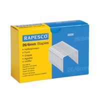 Rapesco Staples 6mm 26/6    HTST116