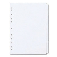 Concord Subject Divider A4 10-Part White 79701