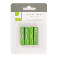 Q-Connect Battery AAA Pk 4 KF00488