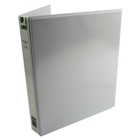 Q-Connect Presentation 4D-Ring Binder 25mm A4 White    KF01325Q