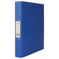 Q-Connect 2 Ring Binder A4 25mm Polypropylene Blue KF02003