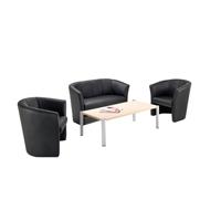 Arista Tub Chair Black