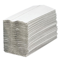 2Work Hand Towel 1-Ply White Pk2955