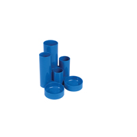 Q-Connect Tube Tidy Blue