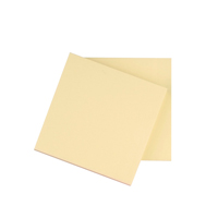 Q-Connect Repositionable Quick Notes 76 x 76mm Yellow KF10502