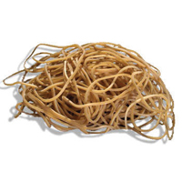 Q-Connect Rubber Bands 500gm Number