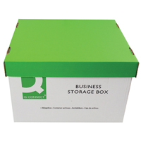Q-Connect Business Storage Box 335x400x250mm    KF21660