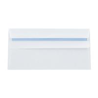 Q-Connect Envelope DL 80gsm Self Seal White Pk 1000 KF3454