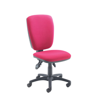 Arista High Back Operator Chair Claret KF97067