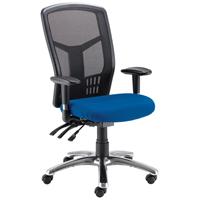 Avio Logan High Back Mesh Operator Chair Blue KF97088