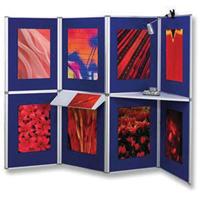 Nobo Pro-Panel 8 Panel Kit Blue 1901083