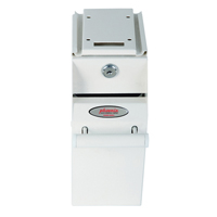 Phoenix Undercounter Note Deposit Safe White SS0991K