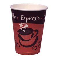 Caterpack 8oz 25cl Hot Cup Pk 50 RY01156