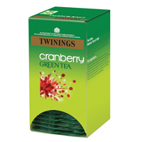 Twinings Cranberry Green Tea Bags    F08046